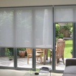 French Door Roller Shades