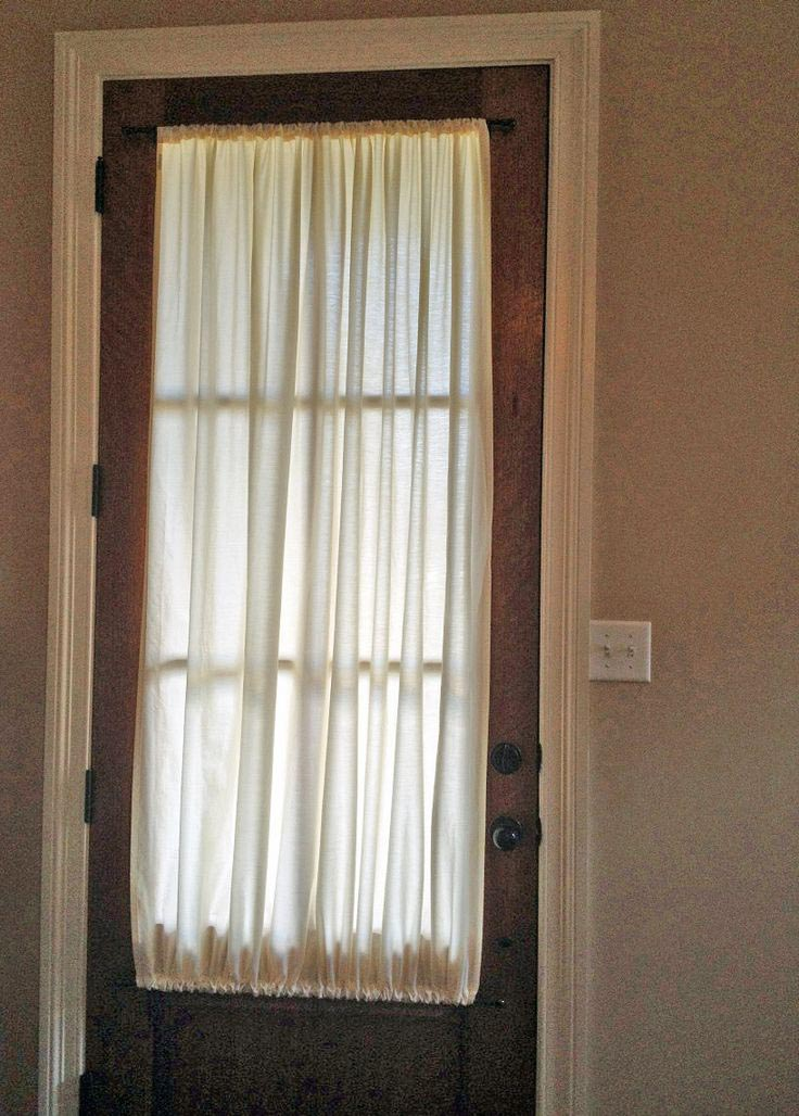 French Door Shades Velcro
