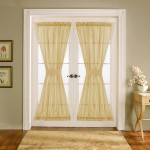 French Door Window Shades