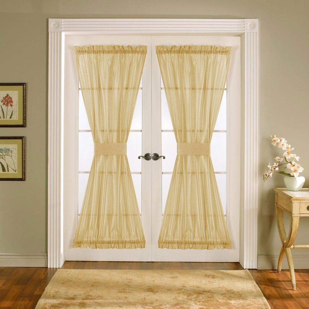 French door window shades window treatments design ideas for Door window shades blinds