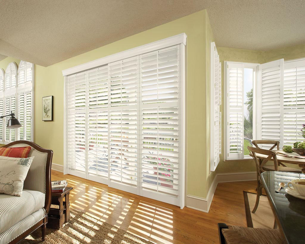 Horizontal Shades for Sliding Glass Doors