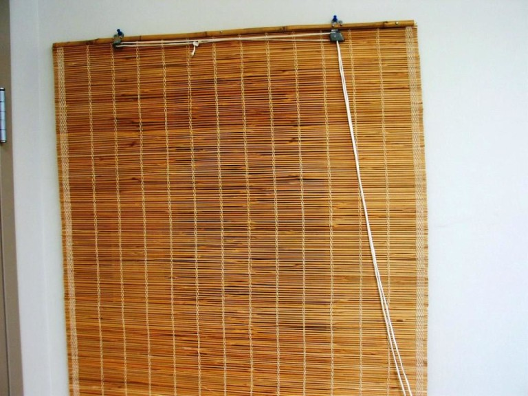 Outdoor Bamboo Porch Shades