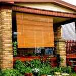 Outdoor Bamboo Shades for Porch