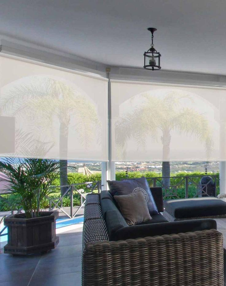 Outdoor Porch Window Shades