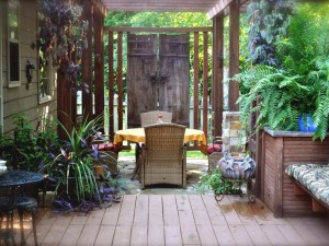 Outdoor Privacy Shades for Porch