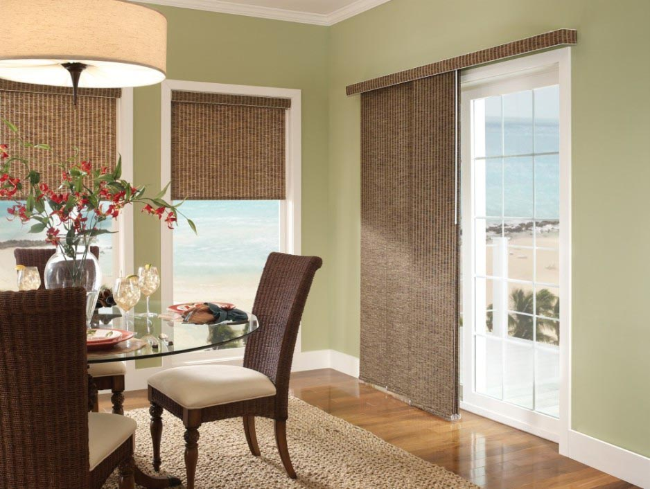 Panel Shades for Sliding Glass Doors