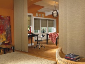 Panel Track Shades for Patio Doors