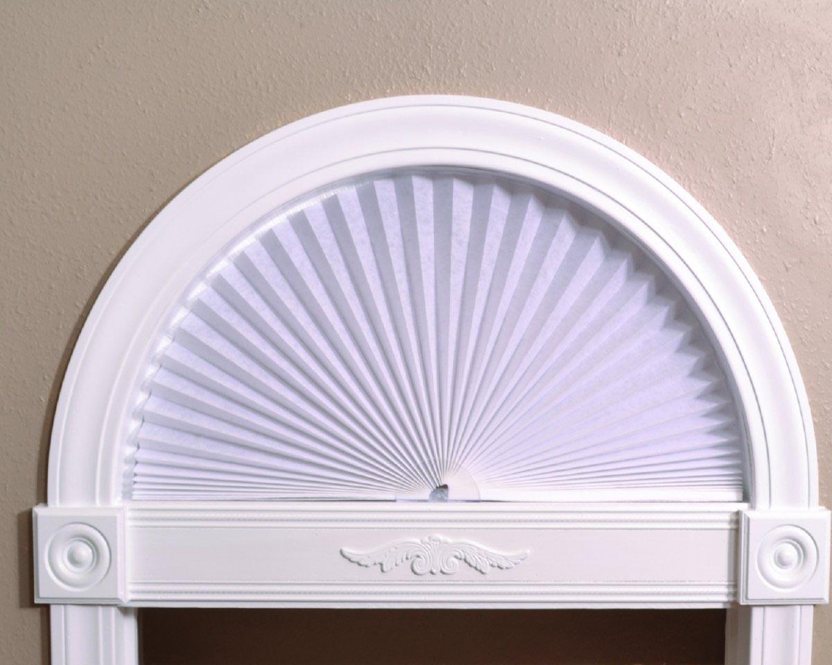 Redi Arch Paper Window Shade Window Treatments Design Ideas