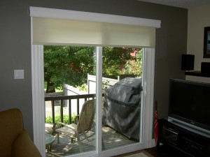 Roller Shades for Sliding Glass Doors