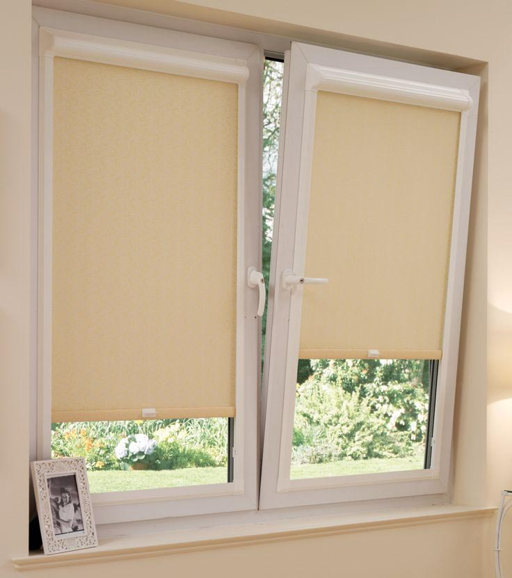 Roller Shades French Doors