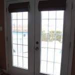 Roman Shade for French Door