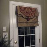 Roman Shade French Door