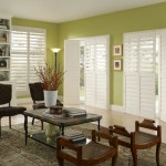 Roman Shades for Sliding Patio Doors