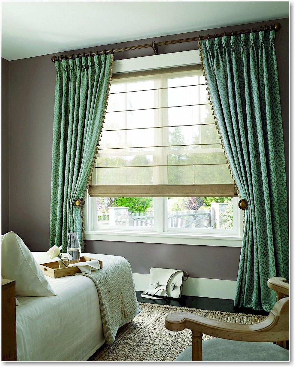 Sheer roman shades for your pleasure window treatments for Window blinds ideas