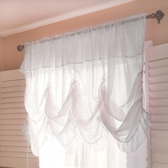 Sheer Balloon Shades Curtains