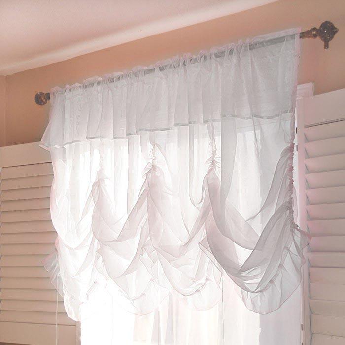 Sheer Balloon Shades Curtains