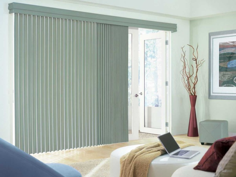 Vertical Shades for Patio Doors