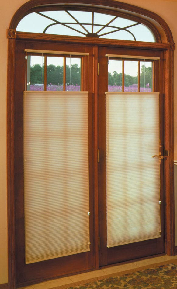 Window Shades for French Doors